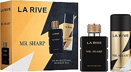 Parfémy, Parfumerie, kosmetika La Rive Mr. Sharp - Sada (edt/100ml + deo/150ml)