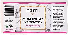 Parfémy, Parfumerie, kosmetika Mušelínový ubrousek na čištění obličeje - Mohani
