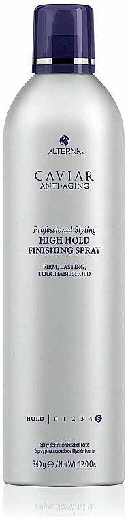 Lak se silnou fixací - Alterna Caviar Anti Aging Professional Styling High Hold Finishing Spray — foto N2