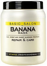 Parfémy, Parfumerie, kosmetika Maska na poškozené vlasy - Stapiz Basic Salon Banana Mask