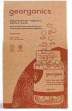 Parfémy, Parfumerie, kosmetika Tablety na výplach úst Pomeranč - Georganics Mouthwash Tablets Refill Pack Orange (náhradní náplň)