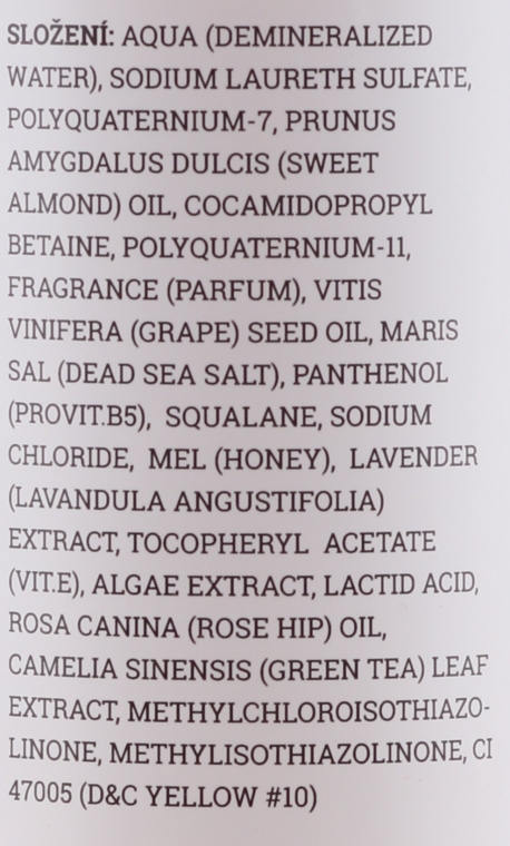 "Sprchový olej ""Burbonská vanilka"" - Sefiros Aroma Shower Oil Bourbon Vanilla — foto N3"
