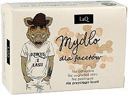 Parfémy, Parfumerie, kosmetika Mýdlo pro muže s aktivovaným uhlím - LaQ Men Soap With Activated Carbon