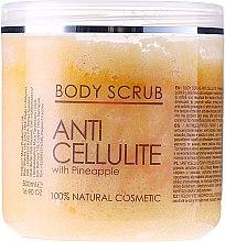 Parfémy, Parfumerie, kosmetika Tělový peeling - Sezmar Collection Professional Body Scrub Anti Cellulite With Pineapple