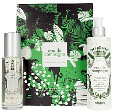 Parfémy, Parfumerie, kosmetika Sisley Eau De Compaigne Jungle Gift Set - Sada (edt/100ml + sh/gel/250ml)
