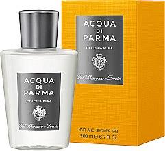 Parfémy, Parfumerie, kosmetika Acqua di Parma Colonia Pura Hair and Shower Gel - Sprchový gel