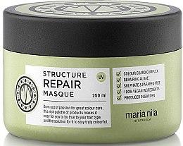 Parfémy, Parfumerie, kosmetika Maska na suché a poškozené vlasy - Maria Nila Structure Repair Masque