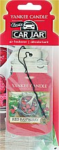 Parfémy, Parfumerie, kosmetika Vůně do auta - Yankee Candle Car Jar Red Raspberry
