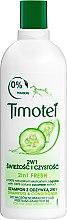 """Parfémy, Parfumerie, kosmetika Šampon-kondicionér """"Čistota a svěžest"""" - Timotei Fresh Shampoo & Conditioner"""