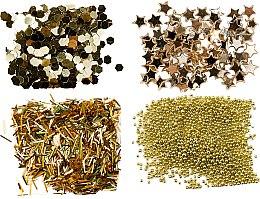 Parfémy, Parfumerie, kosmetika Sada třpytek, zlato - Peggy Sage Nail Glitter Mini Kit Or