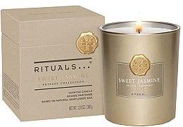 Parfémy, Parfumerie, kosmetika Vonná svíčka - Rituals Private Collection Sweet Jasmine Scented Candle