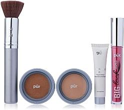 Parfémy, Parfumerie, kosmetika Sada - Pur Minerals Best Sellers Starter Kit Golden Medium (primer/10ml+found/4.3g+bronzer/3.4g+mascara/5g+brush)