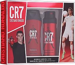 Parfémy, Parfumerie, kosmetika Cristiano Ronaldo CR7 - Sada (sh/gel/200ml + deo/spray/114g)