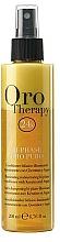 Parfémy, Parfumerie, kosmetika Regenerační dvoufázový kondicionér ve spreji s keratinem - Fanola Oro Therapy