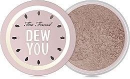 Parfémy, Parfumerie, kosmetika Sypký pudr - Too Faced Dew You Fresh Glow Translucent Setting Powder