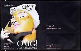 Parfémy, Parfumerie, kosmetika Maska na čištění obličeje 3v1 - Double Dare OMG! 3in1 Kit Peel Off Mask