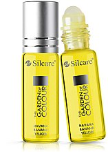 Parfémy, Parfumerie, kosmetika Olej na nehty a nehtovou kůžičku - Silcare The Garden of Colour Cuticle Oil Roll On Havana Banana Yellow