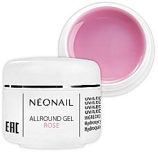 Parfémy, Parfumerie, kosmetika Jednofázový růžový gel na nehty - NeoNail Professional Allround Gel Rose