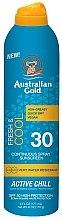 Parfémy, Parfumerie, kosmetika Chladicí opalovací sprej - Australian Gold Freash&Cool Continuous Spray Sunscreen SPF30