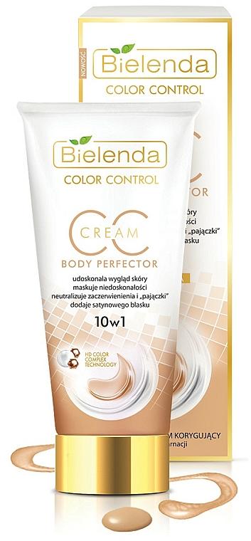 Multifunkční opravný krém na tělo - Bielenda Creams CC and DD