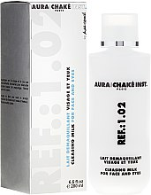 Parfémy, Parfumerie, kosmetika Čistící mléko na obličej a oči - Aura Chake Cleansing Milk Face & Eyes