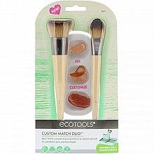 Parfémy, Parfumerie, kosmetika Sada štětců na líčení - Eco Tools Custom Match Duo