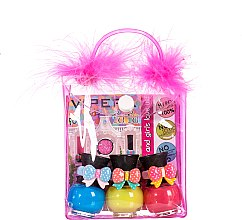 Parfémy, Parfumerie, kosmetika Sada v kosmetické taštičce s bambulkami - Tutu Peel-Off (n/polish/5mlx3 + bag) (11)