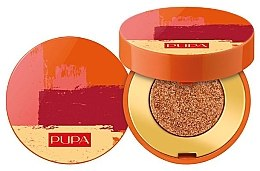 Parfémy, Parfumerie, kosmetika Kompaktní oční stíny - Pupa Summer Escape Metal Eyeshadow