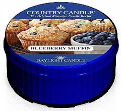Parfémy, Parfumerie, kosmetika Čajová svíčka - Country Candle Blueberry Muffin Daylight