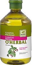 Parfémy, Parfumerie, kosmetika Vyhlazující šampon pro lesk vlasů s malinovým extraktem - O'Herbal Smoothing Shampoo
