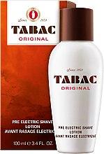 Parfémy, Parfumerie, kosmetika Maurer & Wirtz Tabac Original Pre Electric Shave - Pleťová voda před holením