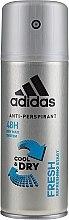 Parfémy, Parfumerie, kosmetika Deodorant - Adidas Anti-Perspirant Fresh Cool & Dry 48H