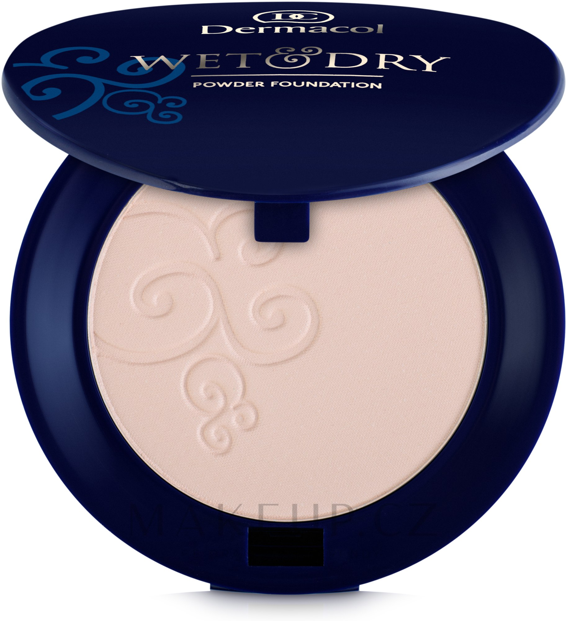 Pudrový make-up - Dermacol Wet & Dry Powder Foundation — foto 01