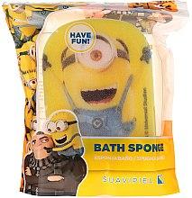 Parfémy, Parfumerie, kosmetika Dětská koupelová houba Mimoni, veselý mimon - Suavipiel Minnioins Bath Sponge