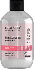 Parfémy, Parfumerie, kosmetika Micelární voda pro odstranění make-upu Květy orchidejí a růže - Ecolatier Urban Micellar Water Age Control
