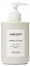 Parfémy, Parfumerie, kosmetika Lotion na ruce - Estelle & Thild Citrus Menthe Hand Lotion
