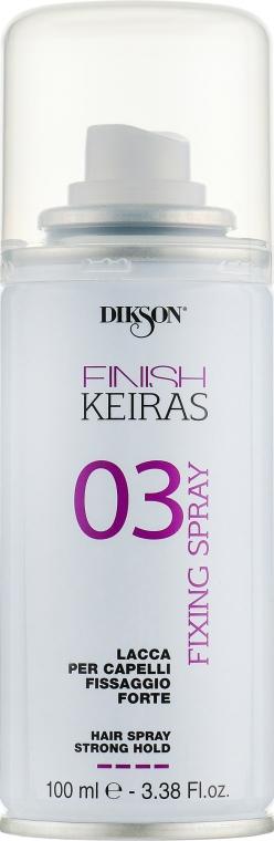 Sprej na vlasy - Dikson Finish Area Keiras Hair Spray Strong Hold 03 — foto N1