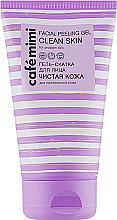 """Parfémy, Parfumerie, kosmetika Exfoliační gél na obličej  """"Čistá kůže"""" - Cafe Mimi Facial Peeling Gel Clean Skin"""