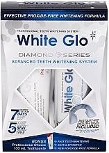 Parfémy, Parfumerie, kosmetika Sada  - White Glo Diamond Series Set (toothpaste/100ml + toothgel/50ml)