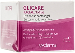 Parfémy, Parfumerie, kosmetika Gel na kontury očí a rty - SesDerma Laboratories Glycare Eye and Lip Contour Gel