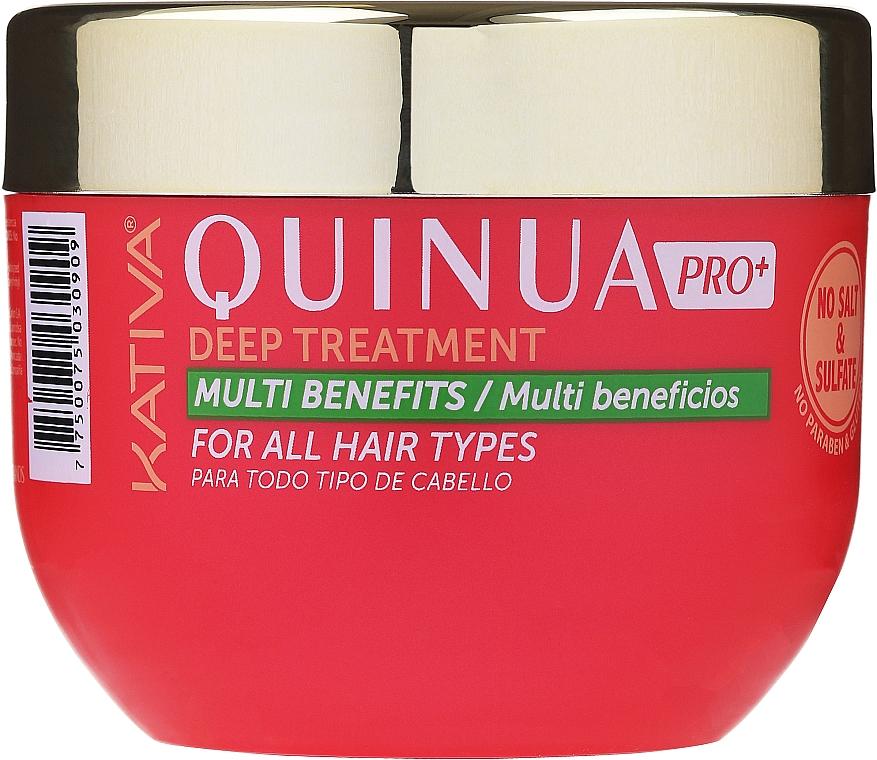 Maska pro intenzivní péči o barevné vlasy - Kativa Quinua PRO Deep Treatment — foto N1