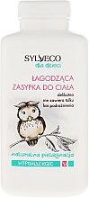 Parfémy, Parfumerie, kosmetika Změkčující prášek na tělo - Sylveco Body Powder Hypoallergic