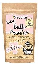 """Parfémy, Parfumerie, kosmetika Pudr do koupele """"Sladké malinové košíčky"""" - Nacomi Sweet Raspberry Cupcake Bath Powder"""