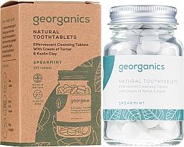 Parfémy, Parfumerie, kosmetika Tablety pro čištění zubů Máta - Georganics Natural Toothtablets Spearmint