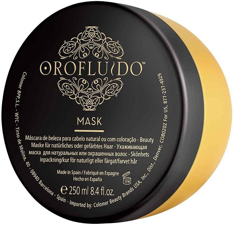 Maska na vlasy - Orofluido Mask — foto N5