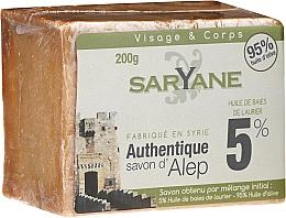 Parfémy, Parfumerie, kosmetika Mýdlo - Saryane Authentique Savon DAlep 5%