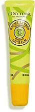Parfémy, Parfumerie, kosmetika Balzám na rty s bambuckým máslem a bergamotem - L'Occitane Shea Butter Bergamot Lip Balm