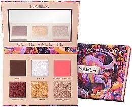 Parfémy, Parfumerie, kosmetika Paleta očních stínů - Nabla Cutie Collection Palette Metropolitan