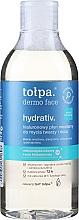 Parfémy, Parfumerie, kosmetika Micelární lotion pro čištění obličeje - Tolpa Dermo Face Hydrativ Face And Eye Micellar Fluid