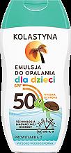 Parfémy, Parfumerie, kosmetika Tělový lotion proti slunci, dětský - Kolastyna Sun Protection Kids Lotion SPF 50